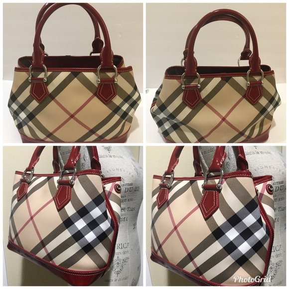 ... Burberry Handbag Medium pre-owned good condition sale online 0f32b  7574f ... d75673dc25228